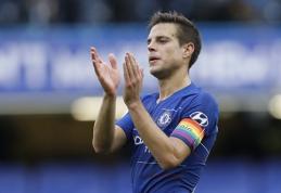 "C.Azpilicueta pratęs kontraktą su ""Chelsea"""