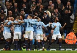 """""""Man City"""" namuose susitvarkė su """"Bournemouth"""", """"West Ham"""" sutriuškino """"Newcastle"""""""