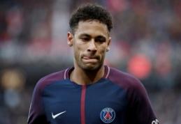 PSG atsibodo Neymaro problemos: ketinama brazilą parduoti