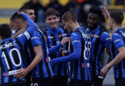 """""""Atalanta"""" eliminavo """"Juventus"""" iš Italijos taurės"""