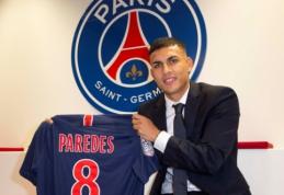 Oficialu: PSG už 40 mln. eurų įsigijo L. Paredesą