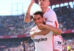 """""""Sevilla"""" antrajame kėlinyje sutaršė """"Levante"""" futbolininkus"""