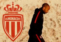 """Oficialu: T. Henry traukiasi, o L. Jardimas grįžta į """"Monaco"""" trenerio pareigas"""