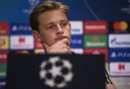 """Daugiau pasiūliusi """"Barcelona"""" laimėjo kovą dėl F. de Jongo įsigijimo"""