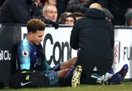 """""""Tottenham"""" traumų krachas: iš rikiuotės mažiausiai mėnesiui iškrito D. Alli"""