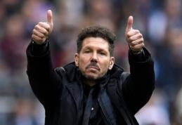 """D. Simeone po """"Girona"""" akibrokšto: """"Geriau žaisti blogai, bet laimėti"""""""