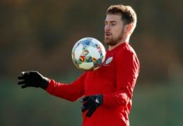 """""""Juventus"""" jau šį sausį į komandą nori pasikviesti A. Ramsey"""