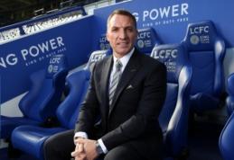 """Oficialu: B. Rodgersas stoja prie """"Leicester"""" klubo vairo"""