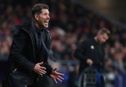 """UEFA pradėjo tyrimą dėl D. Simeone gesto rungtynėse su """"Juventus"""""""