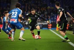 """""""Espanyol"""" ir """"Huesca"""" pasidalino po tašką """"La Liga"""" pirmenybėse"""