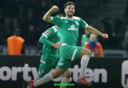 """C. Pizarro tapo """"Bundesliga"""" pirmenybių rekordininku"""