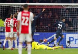 """ČL: """"Tottenham"""" nubaudė Dortmundo ekipą, """"Ajax"""" privertė paprakaituoti """"Real"""""""