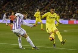 """""""La Liga"""": """"Villarreal"""" toliau neišsikapsto iš turnyrinės lentelės dugno"""