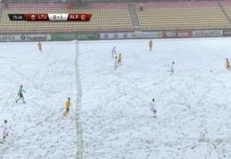 U-21: Pavasarinis sniegas buvo palankesnis kaimynams iš Baltarusijos