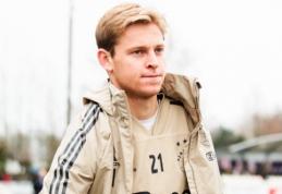 """F. de Jongas prieš dvikovą su """"Juventus"""": """"Ajax"""" neturėtų būti nurašomas"""""""