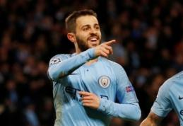"B. Silva pratęsė kontraktą su ""Manchester City"""