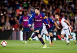 """""""Barcelona"""" ir """"Atletico"""" džiaugėsi pergalėmis Ispanijos pirmenybėse"""
