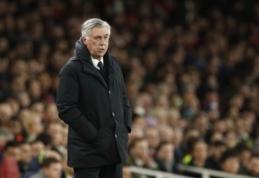 """C. Ancelotti apie PSG pasitraukimą iš ČL: """"Būčiau tikriausiai nušokęs nuo tilto"""""""