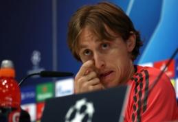 """L. Modričius atvirai: """"Klubas tikėjosi, kad kiti žaidėjai kompensuos Ronaldo netektį"""""""