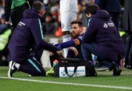 G.Pique: L.Messi burnoje matėsi kraujas