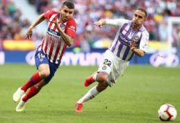 """Įvartis į savus vartus nulėmė """"Atletico"""" pergalę """"La Liga"""" pirmenybėse"""