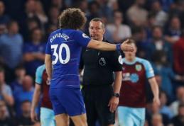 """D. Luizas apie """"Burnley"""" žaidimą: """"Tai buvo anti-futbolas"""""""