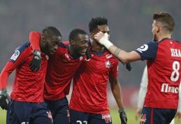 """""""Lille"""" kluptelėjimas leido PSG triumfuoti Prancūzijos lygoje"""