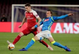 """A. Ramsey šį sezoną dar turėtų padėti """"Arsenal"""" ekipai"""