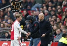 """F. de Jongas greičiausiai galės žaisti prieš """"Juventus"""""""