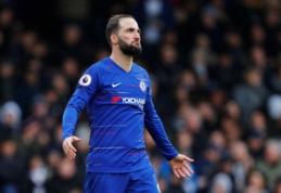 "G. Higuainas kitą sezoną nori likti ""Chelsea"" gretose"