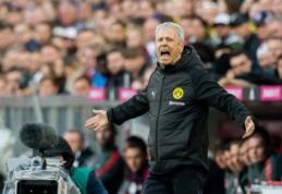 """""""Borussia"""" treneris po pamokos Miunchene: """"Per daug galvojome apie titulą"""""""