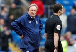 """N. Warnockas po pralaimėjimo """"Chelsea"""" negailėjo kritikos teisėjams"""