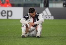C. Ronaldo pirmą kartą per dešimt metų neperžengė 30 įvarčių ribos