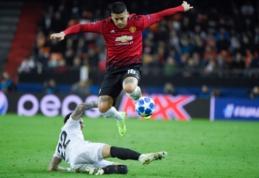 "M. Rojo nori likti ""Man Utd"" gretose"