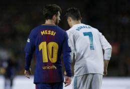 "T. Cahillas: ""Ronaldo nusipelno ""Auksinio kamuolio"" labiau nei Messi"""
