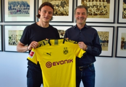 """""""Borussia"""" sudarė sutartį su Vokietijos rinktinės gynėju"""