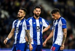 """""""Atletico"""" akiratyje - """"Porto"""" žaidėjai"""