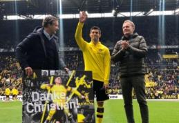 C. Pulisicas atsisveikino su BVB fanais