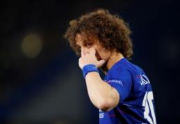 """Oficialu: D.Luizas pratęsė kontraktą su """"Chelsea"""""""