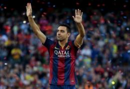"""""""Barcelona"""" legenda Xavi po sezono baigs futbolininko karjerą"""