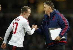 """W. Rooney: """"Van Gaalas yra geriausias treneris, su kuriuo man teko dirbti"""""""
