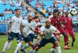 """""""Copa America"""": Argentina įveikė Katarą ir pateko į atkrintamąsias"""