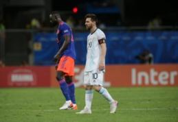 """Argentina žygį """"Copa America"""" turnyre pradėjo pralaimėjimu Kolumbijai"""