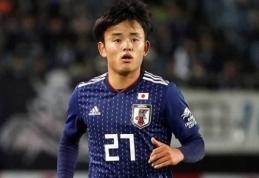"""Madrido """"Real"""" įsigijo kylančią Japonijos futbolo žvaigždę"""