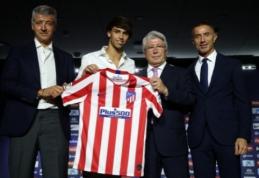 "J.Felixas ""Atletico"" klube debiutavo patirdamas traumą"