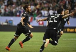 """Golden Cup"" turnyro finale – meksikiečių pergalė"
