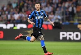 """Rugpjūčio 30 d. transferai ir gandai: """"Monaco"""" pasiūlė 65 mln. eurų už M. Icardi"""