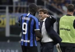 """A. Conte: """"Lukaku parodė, kodėl mes taip stipriai jo norėjome"""""""
