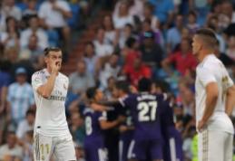 """Madrido """"Real"""" išleido pergalę prieš """"Real Valladolid"""", """"Valencia"""" nusileido """"Celtai"""""""