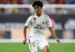 """""""Real"""" talentas iš Japonijos rungtyniaus """"Mallorca"""" ekipoje"""